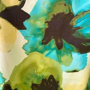Jones Studio Dresses - Jones Studio Sleeveless Flower Print Dress